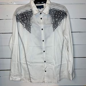 ROAR Signature Western Shirt! Size 3XL